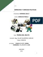Monografia de Teoria Del Delito Penal Final