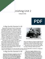 Finishing Unit 2