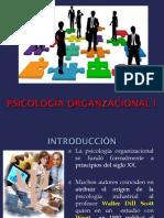 1.- Historia de La Psicología Orga.