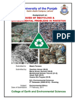 Issues of Recycling & Env. Protec. in Pak
