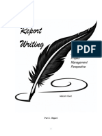 Report Writing _Project Management Perspective_MP