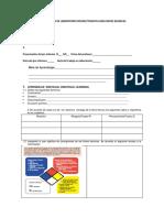 Hoja de Datos de Laboratorio Decimo Tematica Reacciones Quimicas