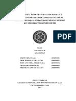 Jurnal Awal P Anfar II_PK Parasetamol Dan Natrium Diklofenak Dalam Jamu-Klmpk 5_Gol II