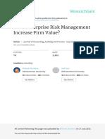 Does enterprose Risk Management Increase Firm Value.pdf