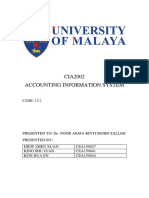 Accounting Information System assignment