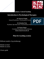 Psychological Treatments Handouts