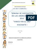 Campaña de Las Americas 2016- Otoca