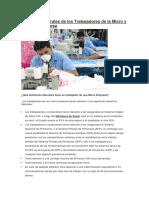 Beneficios Laborales de Los Trabajadores de La Micro y Pequeña Empresa