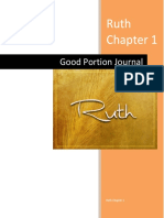 ruth chapter 1 bible study