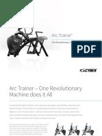 ArcTrainer Lr Gym Manual