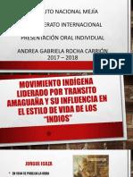 Movimiento Indígena Liderado Por Transito Amaguaña