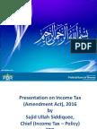 FBR Amendments IT Sajid PPT
