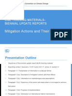 Mitigation Actions and Their Effects
