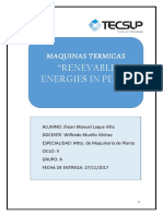 Renevable Energies in Peru