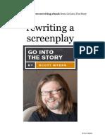 04 Rewriting a Screenplay Scott Myers
