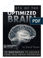 Nootropics Expert Secrets of the Optimized Brain