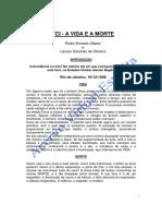 TCI - A Vida e a Morte (Pedro Ernesto Stilpen e Lazaro Sanches de Oliveira)