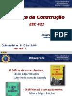 1ª Aula - Serviços Preliminares + Apresentação da disciplina