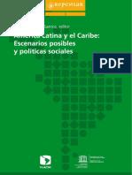 América Latina y el Caribe. Escenarios y Políticas Sociales