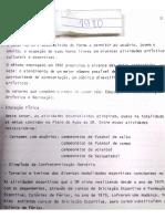 Relatório anual SESI CEARÁ  1980 Lazer