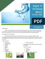 Algae in Drinking Water