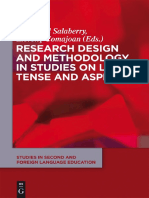 Research Design and Methodology in Studies on L2 Tense and Aspec Anotated