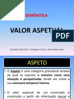 Semântica - Valor Aspetual
