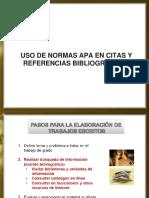 5. Normas Apa - Citas y Referencias