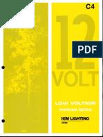Kim Lighting 12 Volt Landscape Lighting Products Catalog 1977