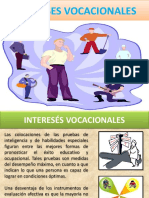 INTERESES VOCACIONALES