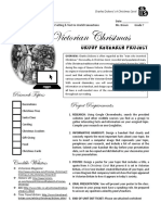christmas carol - prereading research activity - victorian christmas webquest  pdf