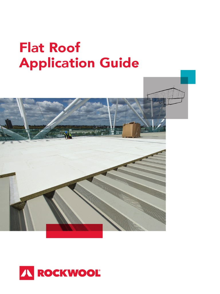 flat roof application guide roof building insulation rh scribd com Flat Roof Drain Design Flat Roof Materials