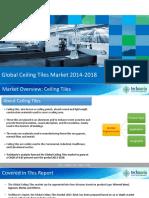 Global ceiling tiles market2014