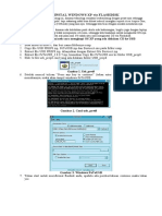 Cara Instal Windows Xp via Flashdisk