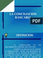 CONCILIACION BANCARIA ppt