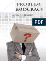 Alain de Benoist the Problem of Democracy