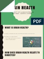 brain health ppt