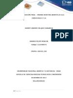 Fase 6 – Evaluación Final – Prueba Objetiva Abierta (p.o.a) Ejercicios 9 y 10