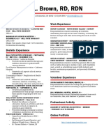 erin brown resume