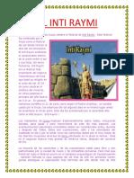 El Inti Raymi