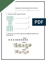 Prueba Matematica Sexto Básico