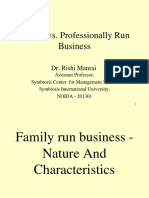 Family Business vs MNC