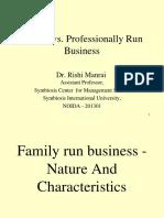 Family Business vs MNC