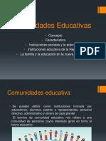 comunidades Educativas Exposicion