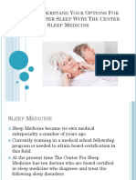 Understand Your Options for Better Sleep