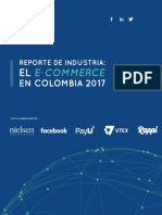 Reporte de Industria El E-commerce en Colombia 2017