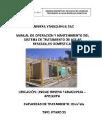 MANUAL DE OPERACIÓN Y MANTENIMIENTO DEL SISTEMA DE TRATAMIENTO DE AGUAS RESIDUALES DOMESTICAS. (Recuperado).docx