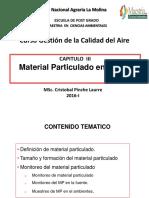 CLASE 3 MaterialParticulado
