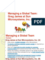 Managing a Global Team