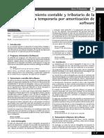 Amortizacion de Software
